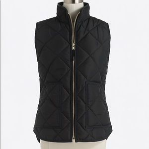 J. Crew Jackets & Coats - J Crew Quilted Puffer Vest